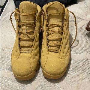 Jordan 13s Khaki